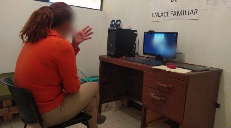 Utiliza Sonora videollamadas para enlazar a personas privadas de su libertad con sus familias