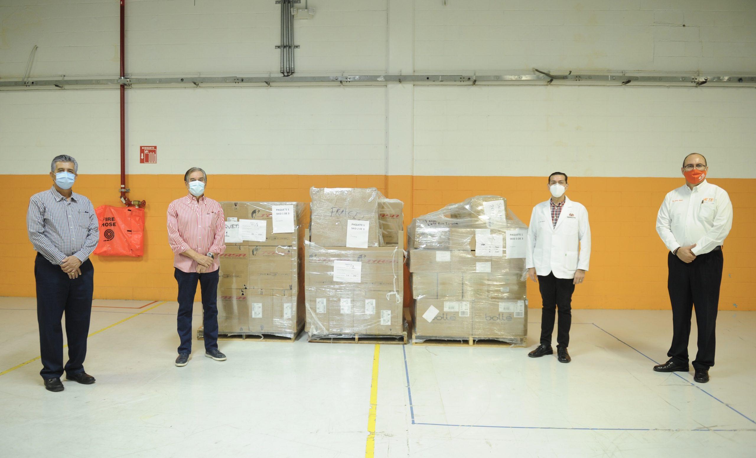 Dona TE Connectivity equipo médico a cinco hospitales de Hermosillo