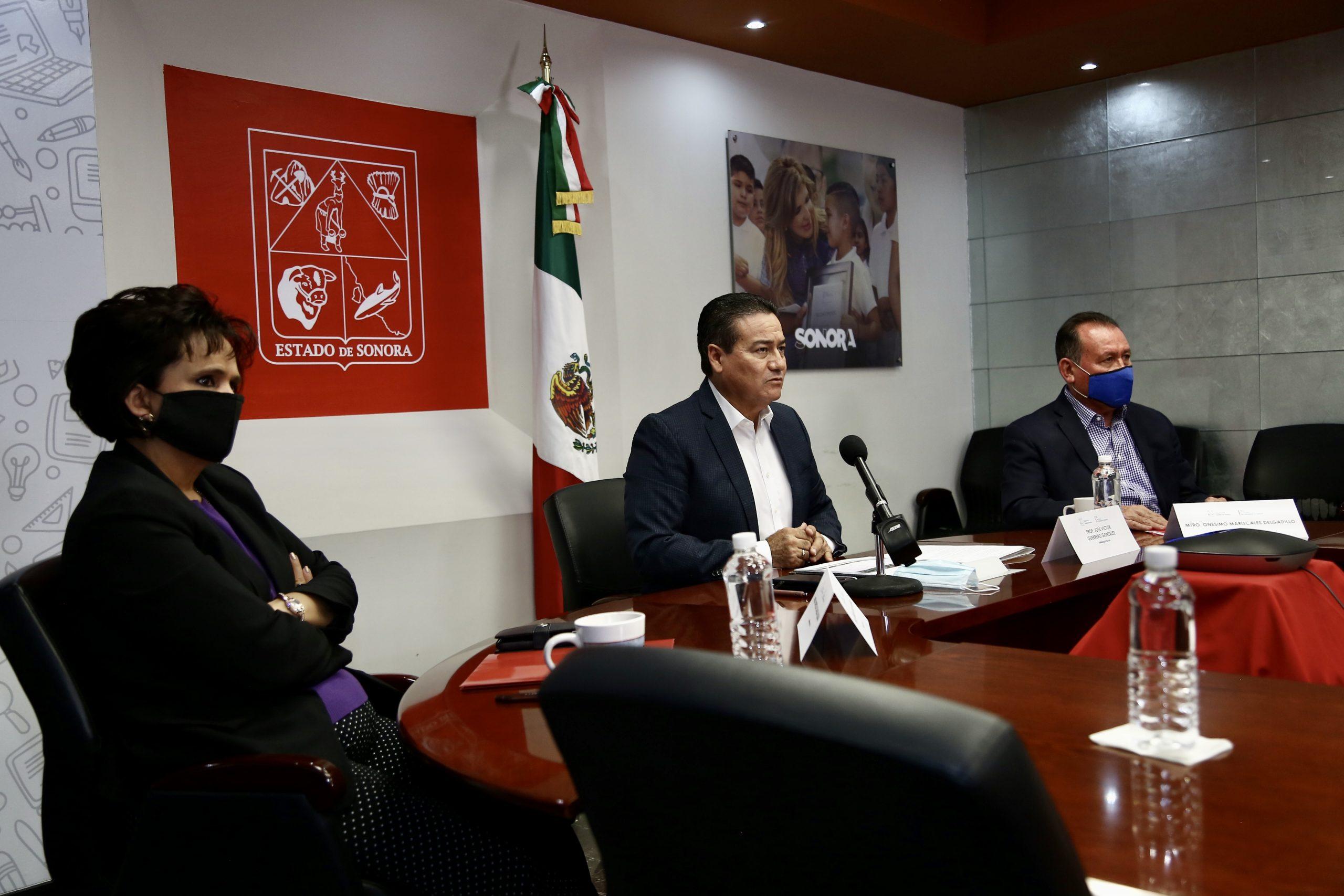 Participará Sonora en estudio sobre retos de la educación durante la contingencia sanitaria