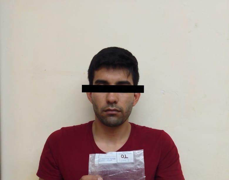 CAPTURAN POLICÍA MUNICIPAL A SUJETO POR PRESUNTA POSESIÓN DE DROGA