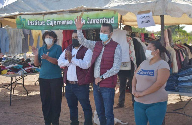 """LLEVA GOBIERNO MUNICIPAL UN """"CAJEME DE CORAZÓN"""" A COLONIA EL SAHUARO"""