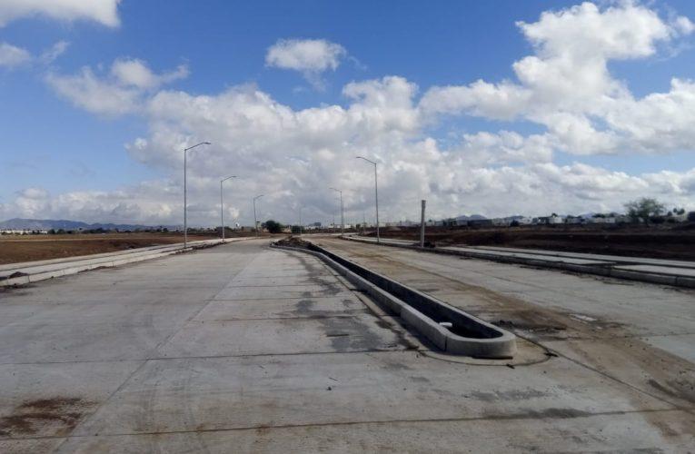 Un avance de 72% presenta la ampliación del bulevar Navarrete al poniente de Hermosillo