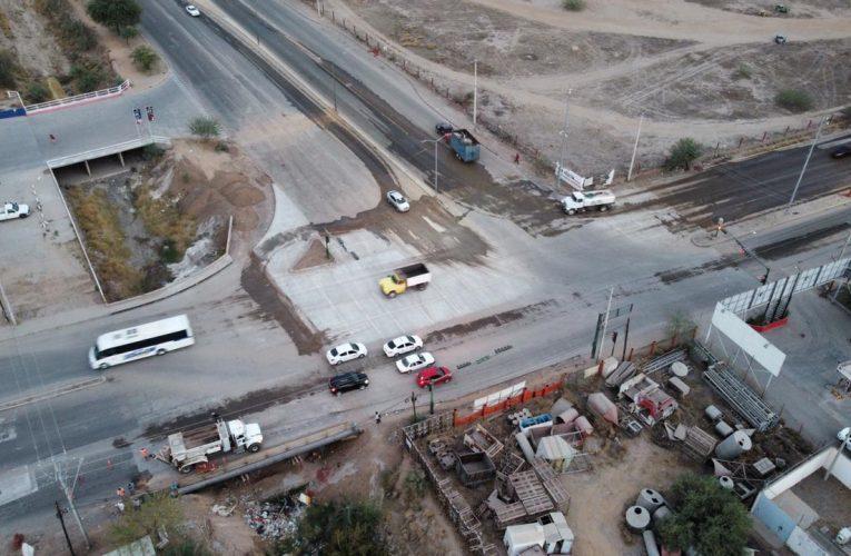 Registra pavimentación sobre el Bulevar Quiroga avance de 94%