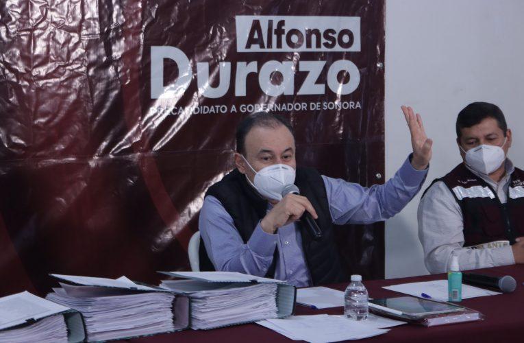 Grave falla del Gobierno del Estado en omisión de spots del INE: Alfonso Durazo
