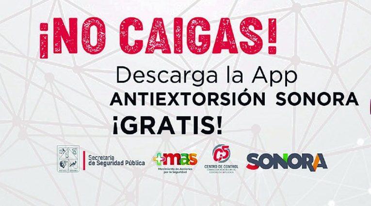 Reitera SSP llamado a la ciudadanía a descargar la aplicación preventiva Antiextorsión Sonora
